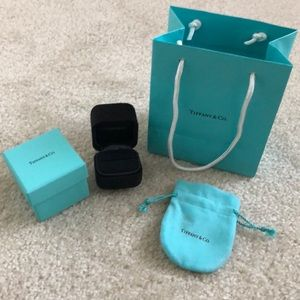 Other - Tiffany box , bag and pouch
